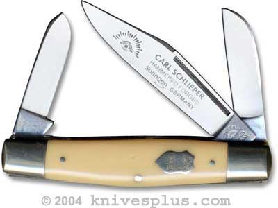 Eye Brand Knives: Eye Brand Stockman Knife, Yellow Handle, EB-350Y