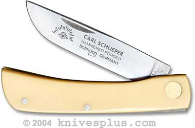 Eye Brand Knives: Eye Brand Sod Buster Jr Knife, Yellow Handle, EB-99JRY