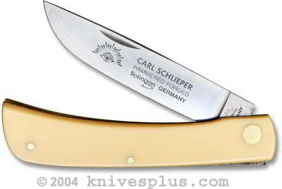 Eye Brand Knives: Eye Brand Sod Buster Knife, Yellow Handle, EB-99Y