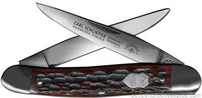 Eye Brand Knives: Eye Brand Muskrat Knife, Bone Handle, EB-M