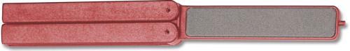 EZE-LAP Knife Sharpener: EZE-LAP EZE-Fold Diamond Knife Sharpener, Fine, EZ-501