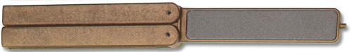 EZE-LAP Knife Sharpener: EZE-LAP EZE-Fold Diamond Knife Sharpener, Fine-Coarse, EZ-520