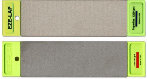 EZE-LAP Double-Sided Bench Stone, 6 Inch Super Fine-Fine, EZ-DD6SFF