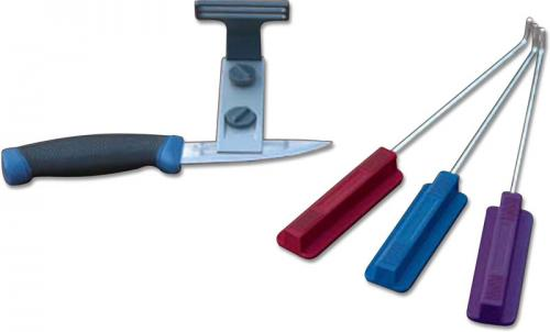 EZE-LAP Knife Sharpener: EZE-LAP Diamond Knife Sharpening Kit, EZ-DMDKIT