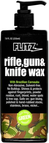 Flitz: Flitz Gun and Knife Wax, 7.6 Ounce Bottle, FL-2785
