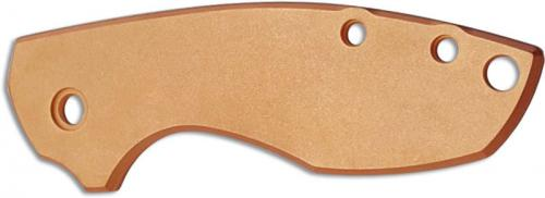 Flytanium Custom Copper Scale for CRKT Pilar 5311 Knife - Antique Stonewash Finish