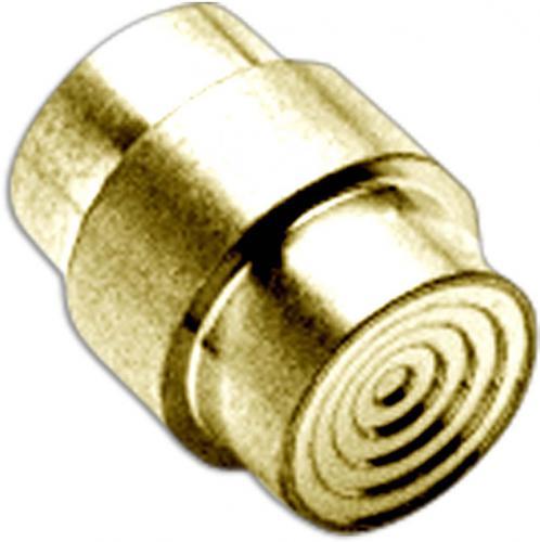 Flytanium Custom Brass Stepped Lanyard Hole Stopper for Spyderco Para Military 2 or Para 3 Knife - Stonewash
