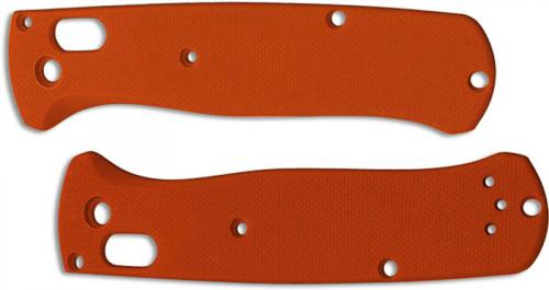 Flytanium Custom G10 Scales for Benchmade Bugout Knife - Orange