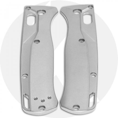 Flytanium Custom Titanium Scales for Benchmade Bugout Knife - Crossfade - Blasted
