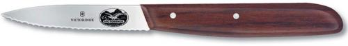 Forschner Paring Knife, Wavy with Large Rosewood Handle, FO-40000