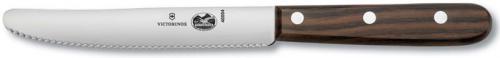 Forschner Steak Knife, Rosewood Wavy Blunt Tip, FO-40004