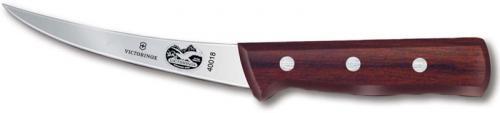 Forschner Boning Knife, 5 Inch Curved Flex Rosewood, FO-40018