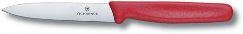 Forschner Paring Knife, 4 Inch Large Red Nylon, FO-40502