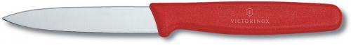 Forschner Paring Knife, 3.25 Inch Small Red Nylon, FO-40601