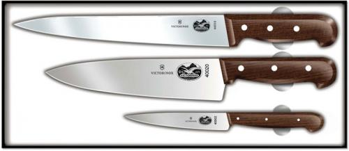 Forschner Chef's Set, 3 Piece Rosewood, FO-46057