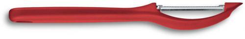 Victorinox 7.6075.1 Universal Peeler Pivoting Serrated Head Red Polypropylene Frame