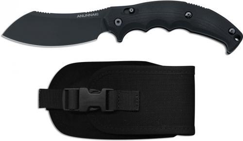 Fox Knives FKMD Anunnaki FX-505 Knife Black Sheepfoot Black G10 Folder Made In Italy