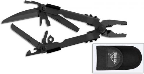Gerber Multi Plier Tool Mp 600 Black Blunt Nose Gb 7520