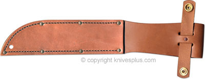KA-BAR Knives: KABAR Leather Unmarked Replacement Sheath, KA-1217IS