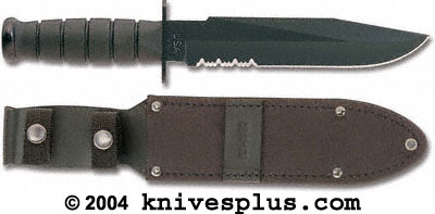 KA-BAR Knives: KABAR Black Fighter Knife, KA-1271