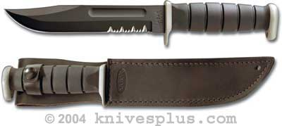 KA-1283, KA-BAR D2 Extreme Fighting/Utility, Leather Sheath