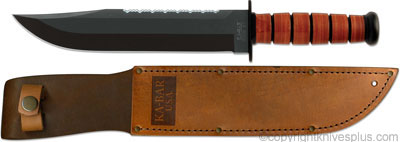 KABAR Big Brother Knife, Leather, KA-2217