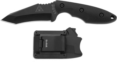 KABAR TDI Hinderer Hell Fire Knife, KA-2486