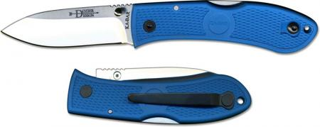 KABAR Dozier Folding Hunter, Blue, KA-4062BL