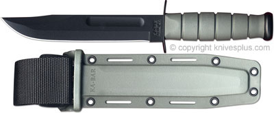 KA-BAR Knives: KABAR Fighting-Utility Knife, Foliage Green, KA-5011