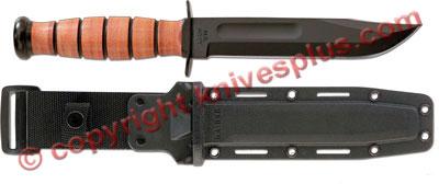 KA-BAR Knives: KABAR US Army Fighting-Utility Knife with Synthetic Sheath, KA-5020