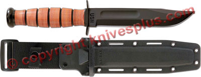 KA-BAR Knives: KABAR Navy Fighting-Utility Knife with Synthetic Sheath, KA-5025