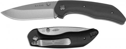 KABAR Jarosz Folder 7505 Jesse Jarosz EDC Drop Point Liner Lock Folding Knife