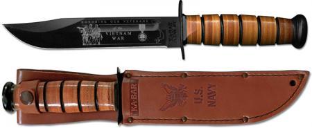 KA-BAR Knives: KABAR Vietnam Commemorative Knife, US Navy, KA-9141