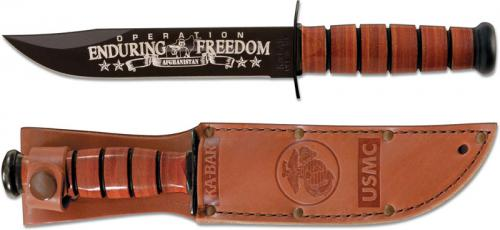 KABAR 9169 USMC OEF Afghanistan Commemorative Knife