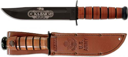 KABAR 9190 120th Anniversary Commemorative Knife with US Army Tang Stamp USA Made