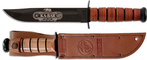 KABAR 9191 120th Anniversary Commemorative Knife with USMC Tang Stamp USA Made