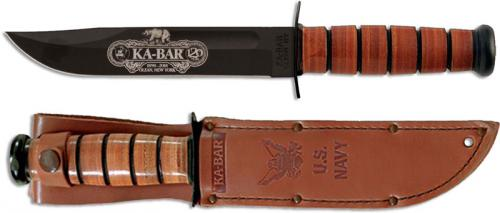KABAR 9192 120th Anniversary Commemorative Knife with USN Tang Stamp USA Made