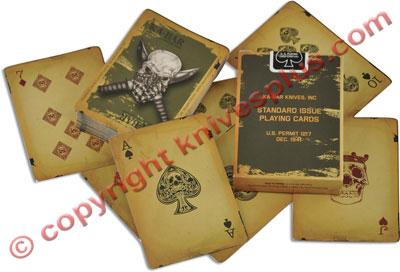 KABAR Playing Cards, KA-9914