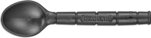 KABAR Krunch 9924 - Spoon Straw - Black Creamid - USA Made
