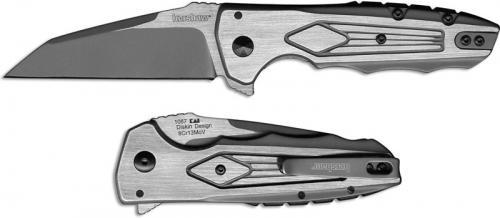 Kershaw Deadline 1087 Knife Matt Diskin EDC KVT Flipper Folder Wharncliffe Stainless Steel