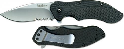 Kershaw Clash, Part Serrated, KE-1605ST
