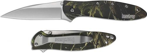 Kershaw Leek 1660CAMO Knife Camo Ken Onion Assisted Flipper Folder