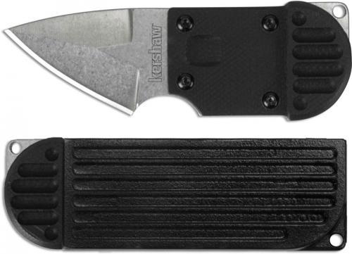 Kershaw AM-6 2345 Knife Al Mar Compact Neck Knife Full Tang Stonewash and GFN