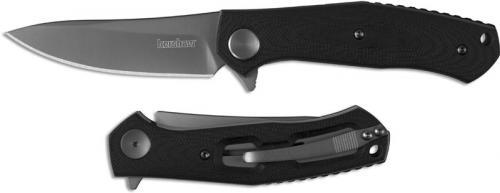 Kershaw 4020 Concierge Dmitry Sinkevich Ti Drop Point Black G10 Handle KVT Flipper Folder