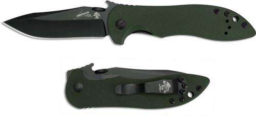 Kershaw Emerson CQC-5K Knife, KE-6074OLBLK