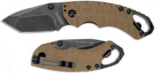 Kershaw Shuffle II Knife, Tan, KE-8750TTANBW