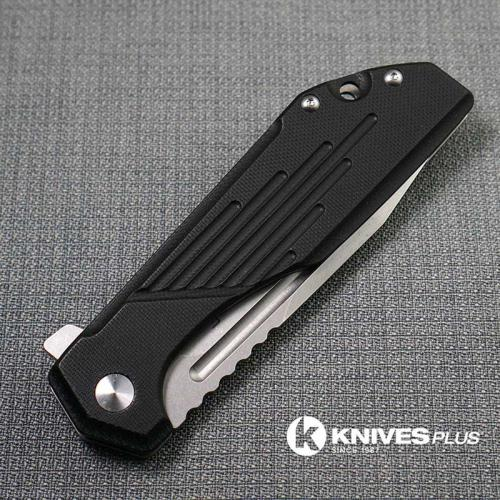 MODIFIED Boker Plus Lateralus 01BO778 G10 JB Stout Knife - Tanto Regrind