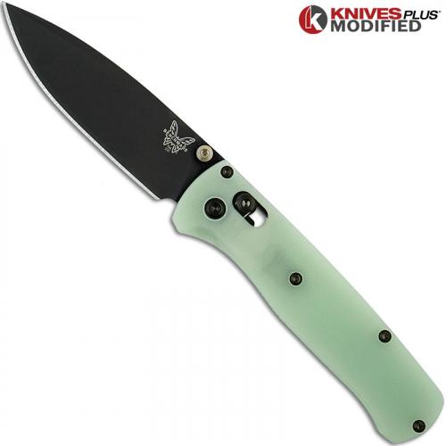 Benchmade Bugout 535GRY1 Knife & Flytanium Jade G10 Scales - Installed FREE