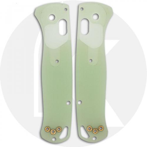 KP Custom G10 Scales for Benchmade Bugout Knife - Jade