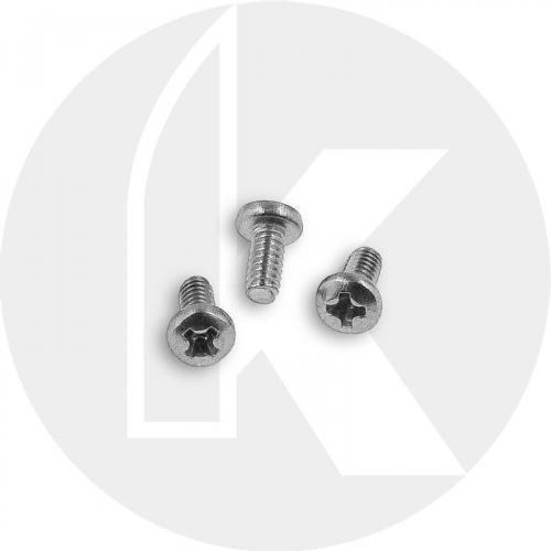 Replacement Clip Screws - Spyderco Para Military 2, Para 3, Yojimbo 2 - Pan Head - Phillips